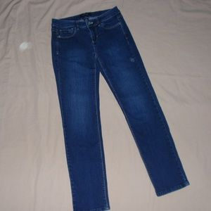 White House Black Market Jeans Blanc 2 Reg